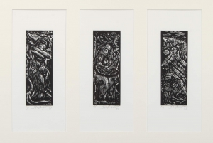 Untitled (Adam and Eve triptych)