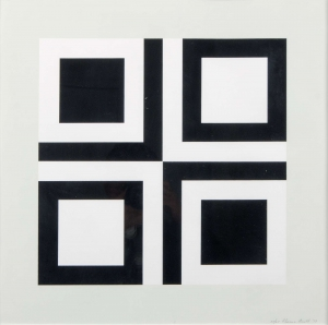 Untitled (Black and White Squares)