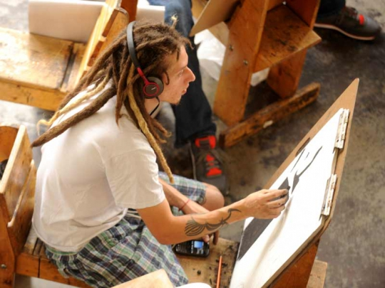 Studio Arts Associate in Arts Degree for Transfer
