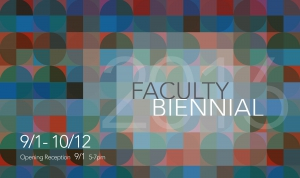 Faculty Biennial 2016