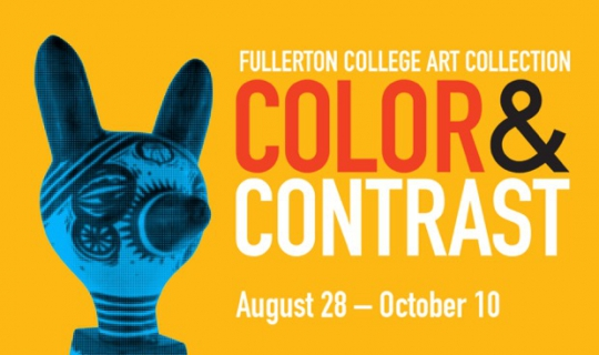 Fullerton College Art Collection: Color and Contrast